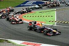 Formel 1 - Italien GP: Überlegener Sieg von Vettel