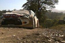 WRC - Video - Meekes mehrfacher Überschlag in Australien