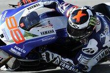 MotoGP - Lorenzo rast im Warm-Up voran
