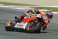 MotoGP - Marc Marquez bei Testfahrten vorneweg