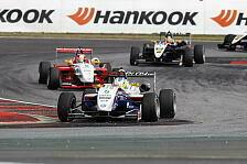 Formel 3 Cup - Menezes mit Top Speed zum Sieg