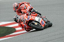 MotoGP - Positives Testfazit bei Ducati
