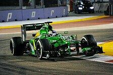 Formel 1 - Probleme bei Caterham und Marussia