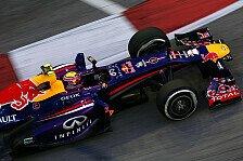 Formel 1 - Webber: Vettel in Singapur nicht zu schlagen