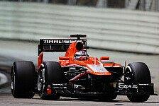Formel 1 - Marussia kommt Caterham nahe