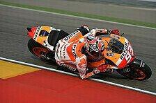 MotoGP - Aragon: Marquez erwartet hartes Rennen