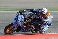 Moto3 - Rins sichert sich Pole Position
