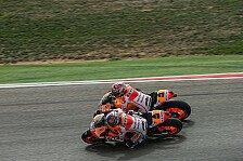 MotoGP - Marquez: Strafpunkt für Pedrosa-Crash