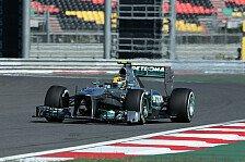 Formel 1 - 2. Training: Hamilton in Korea on top