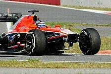 Formel 1 - Marussia-Rookies lernen die Strecke