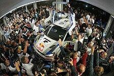WRC - Ogier: Ein Traum geht in Erfüllung