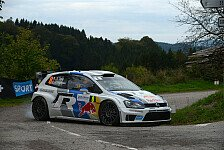 WRC - Ogier triumphiert bei der Rallye Frankreich