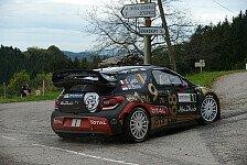 WRC - Neuville behauptet Frankreich-Führung