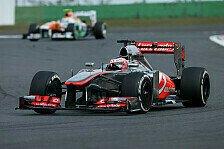 Formel 1 - Button nur drei Kurven glücklich