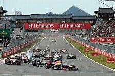 Formel 1 - Korea GP droht hohe Millionenstrafe