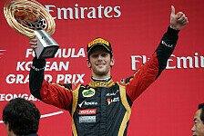 Formel 1 - Boullier: Grosjean wird noch besser