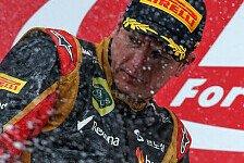 Formel 1 - Räikkönen: Platz zwei ist verdient