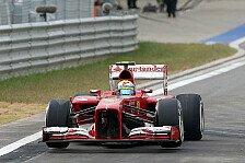 Formel 1 - Massa: Rennen nach Kurve drei vorbei