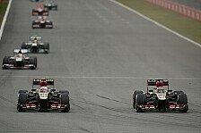 Formel 1 - Lotus: Keine Teamorder war richtig