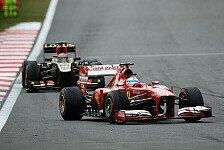 Formel 1 - Domenicali will Pirelli helfen