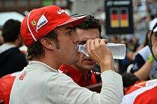 Formel 1 - Alonso lobt sich selbst