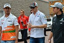 Formel 1 - Vier Deutsche in Korea - der Sonntag