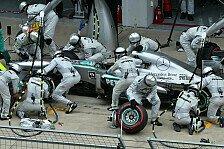 Formel 1 - 2014: Mercedes überlegt Personal-Rotation