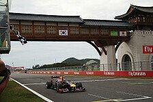 Formel 1 - Viele Fragezeichen hinter dem Korea GP