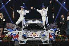WRC - Volkswagen: WM-Showdown in Frankreich