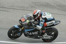 MotoGP - Petrucci mit Potential, Pesek abgeschlagen