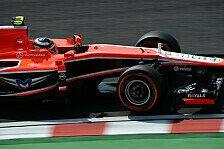 Formel 1 - Marussia strahlt, Caterham grummelt