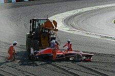 Formel 1 - Marussia ohne Glück im Rennen
