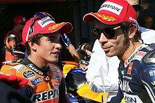 MotoGP - Blog - Rossi kritisiert Marquez: Warum eigentlich?