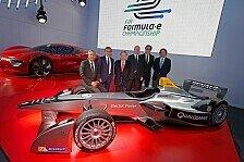 Formel E - Alain Prost gründet Formel-E-Team