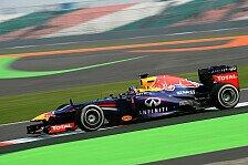 Formel 1 - 2. Training: Vettel gibt erneut den Ton an