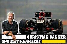 Formel 1 - Christian Danner spricht Klartext zu Räikkönen