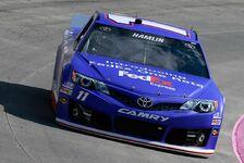 NASCAR - Hamlin startet von der Pole Position