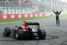 Formel 1 - Roberts Highlight 2013: Vettels Donut-Orgie