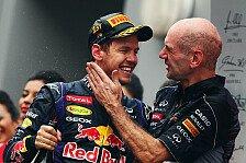 Formel 1 - Vettel: Newey nicht alles