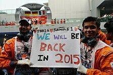 Formel 1 - Regierung ebnet Weg für Indien-Rückkehr
