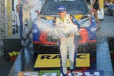 Mehr Rallyes - ERC - Kubica hatte den längsten Atem