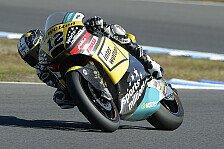 Moto2 - Platz drei im Training von Valencia