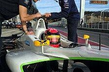 ADAC Formel Masters - Dienst: Erfolgreicher Test im Formel-3-Boliden
