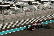 Formel 1 - 2. Training: Vettel markiert Bestzeit