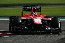 Formel 1 - Marussia: KERS und DRS streiken