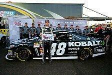 NASCAR - Dritte Saison-Pole für Johnson