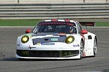 WEC - Porsche-Piloten auf dem Podium