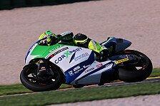 Moto2 - Dominique Aegerter fährt sich ein