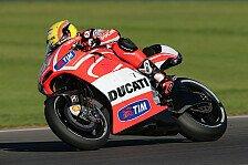 MotoGP - Pirro dreht erste Runden