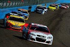NASCAR - Last-Minute-Sieg für Harvick